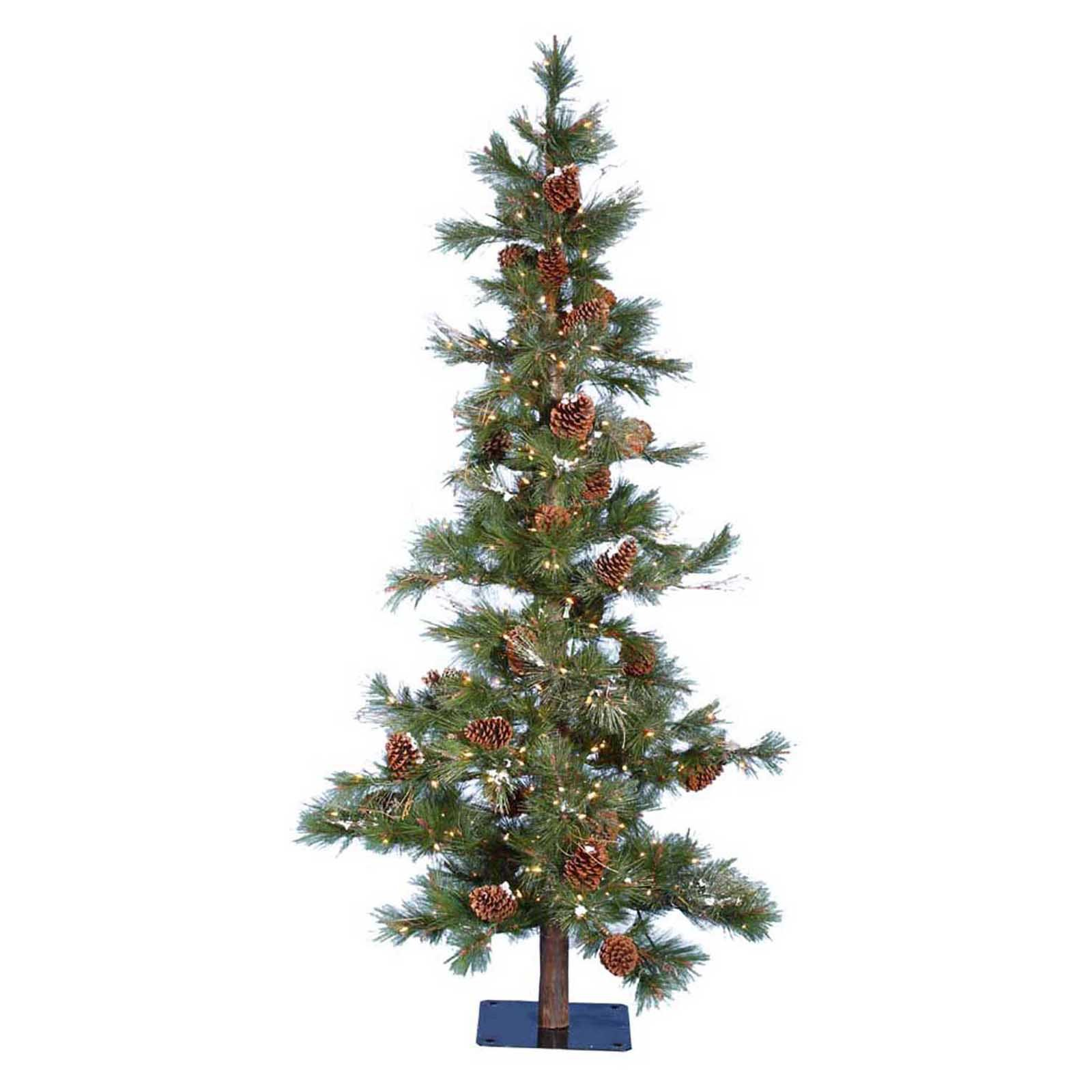 Kurt Adler 7 ft. Big Cone Needle Pine Pre-Lit Christmas Tree