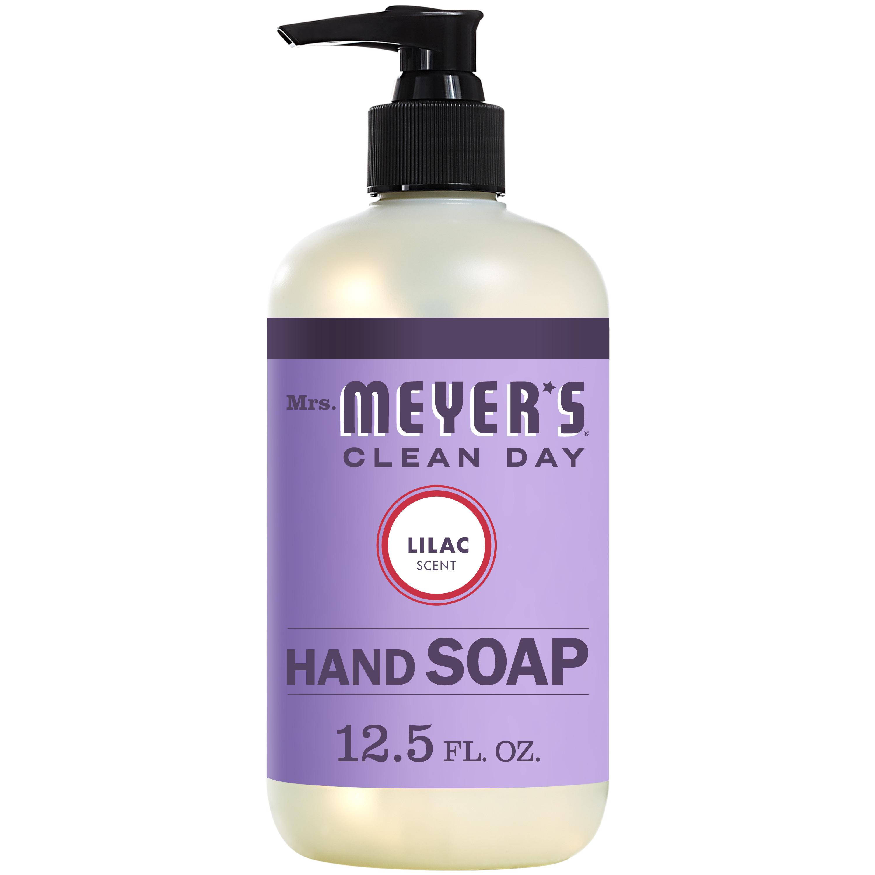 (3 pack) Mrs. Meyer's Clean Day Liquid Hand Soap, Lilac, 12.5 Oz
