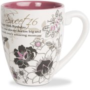 Pavilion - Sweet 16 - 20 oz Birthday Ceramic Coffee Cup Mug