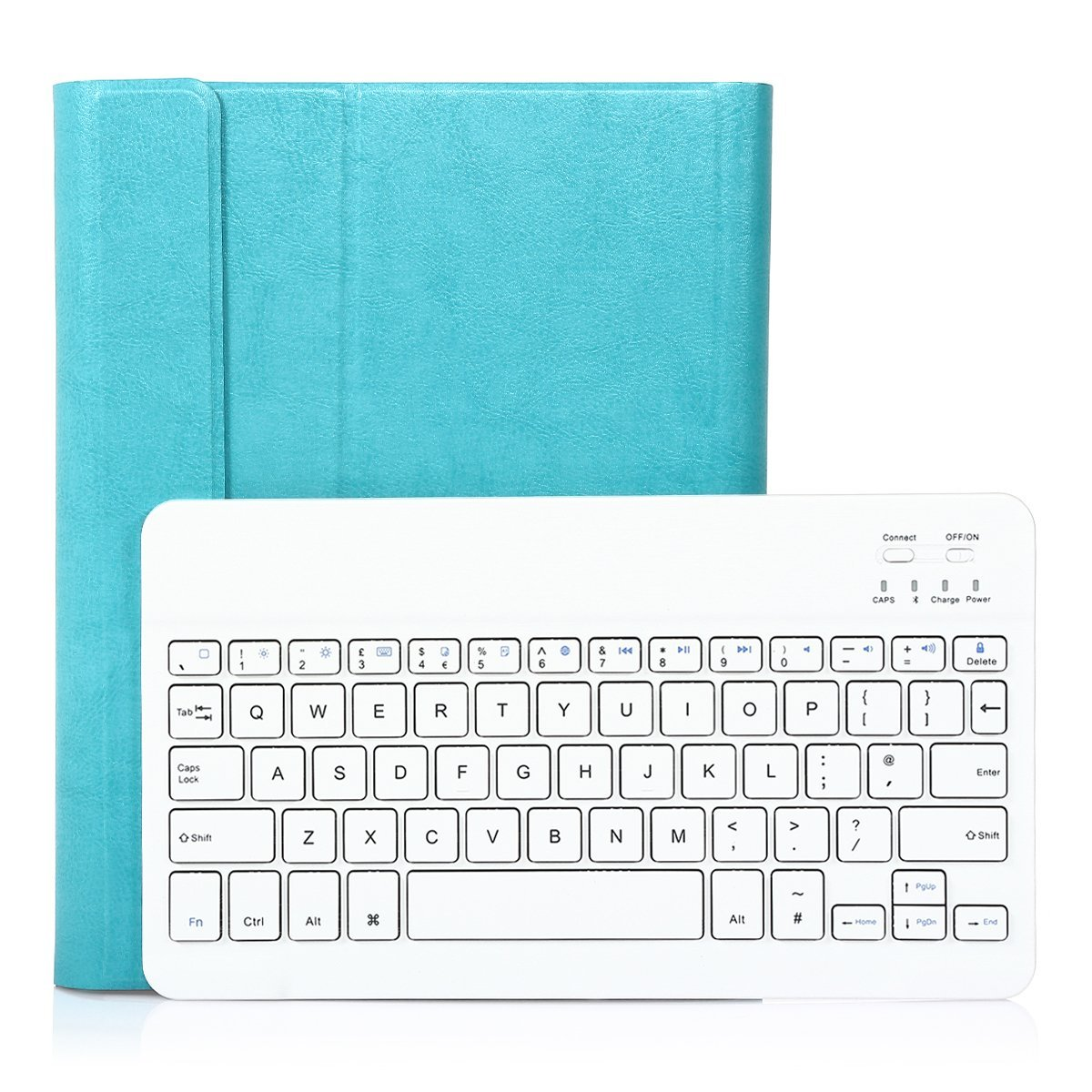 Wireless Hard Bluetooth Keyboard For Apple iPad 2,iPad 3,iPad 4 with PU muti-color Case Cover,CoastaCloud Rechargeable US Layout Bluetooth Keyboard, High Quality PU Leather Shell Case Cover Skin for i