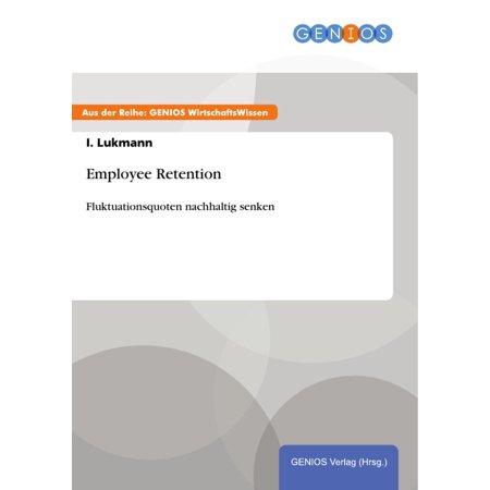Employee Retention - eBook