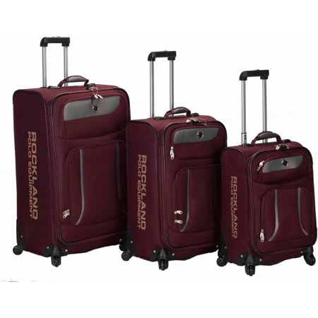 Rockland Navigator 3-Piece Spinner Luggage Set