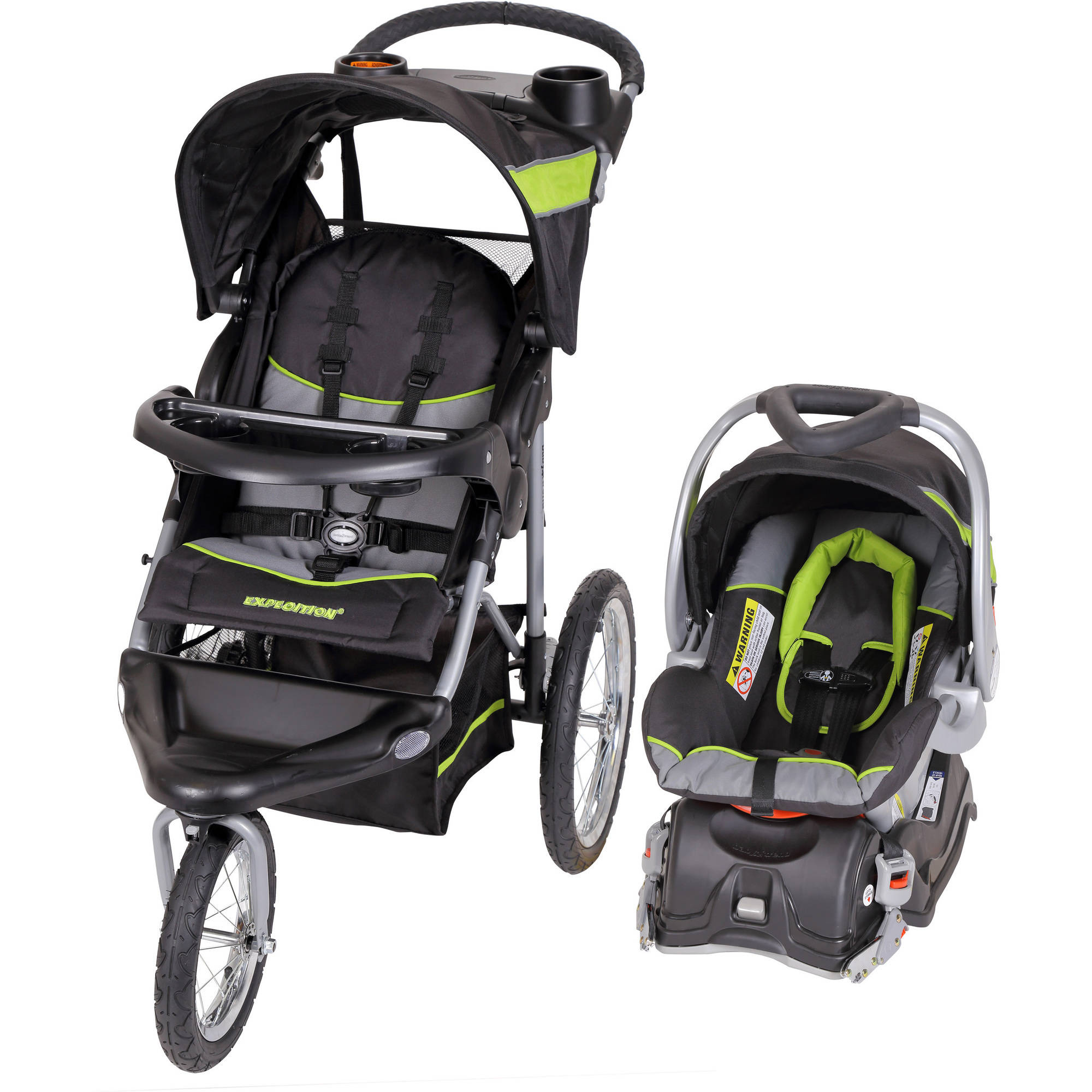Baby Trend Expedition Jogger Travel System, Millennium Green
