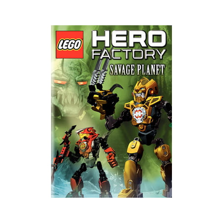 Lego Hero Factory: Savage Planet (DVD) (Free Animation Factory)