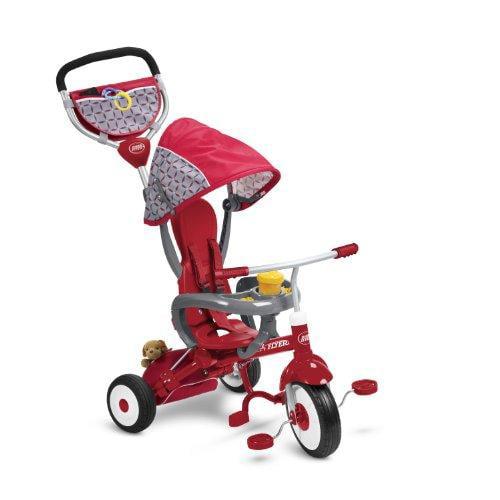 Radio Flyer EZ Fold Stroll 'N Trike Ride On, Red by
