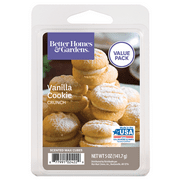Better Homes & Gardens 5 oz Vanilla Cookie Crunch Scented Wax Melts, Value Size