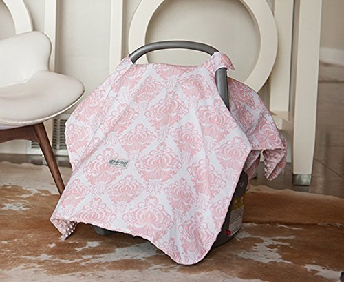 Carseat Canopy (Angelina) Baby Infant Car Seat Cover w/Attachment Straps and ... - Walmart.com  sc 1 st  Walmart & Carseat Canopy (Angelina) Baby Infant Car Seat Cover w/Attachment ...