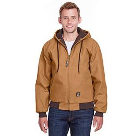 Apparel HJ51BDR440 44/Large Original Hooded Jacket - Quilt Lined Regular - Brown Duck