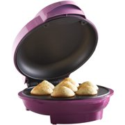 Best Cupcake Makers - Brentwood Non-Stick 7 Mini Cupcake Maker Machine, Pink Review