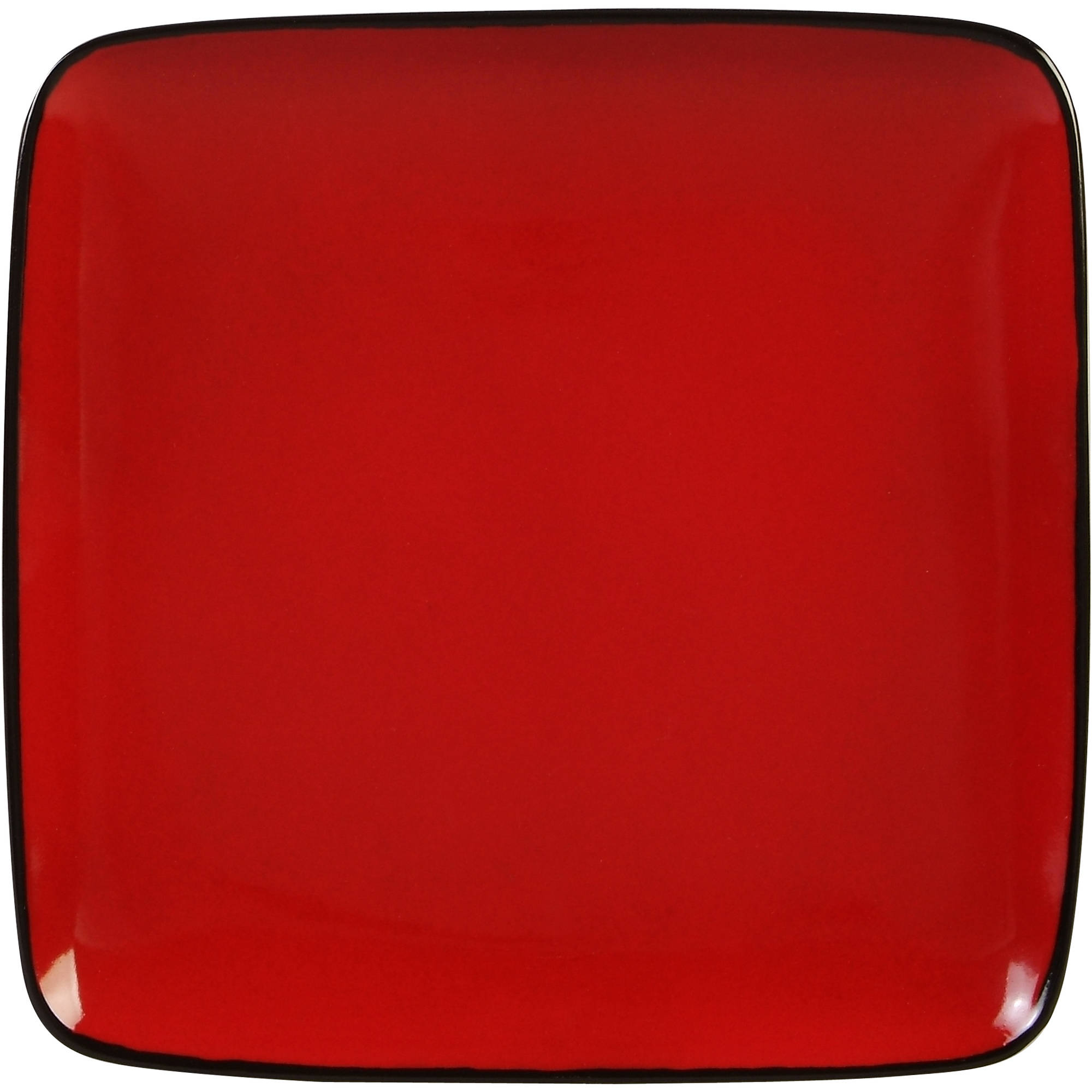 sc 1 st  Walmart : red square dinnerware sets - Pezcame.Com