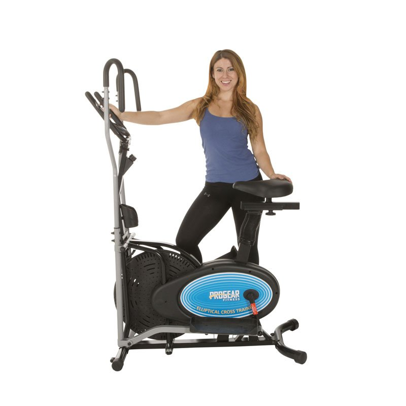 ProGear 400LS 2 Dual Trainer Elliptical & Exercise Bike with Pulse Sensor
