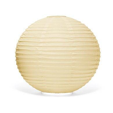 Ivory Round Paper Lanterns - Large](Large Paper Lanterns)