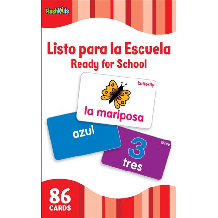 Listo Para La Escuela/Ready for School (Flash Kids Spanish Flash Cards) - Decoraciones Para Halloween Para Imprimir