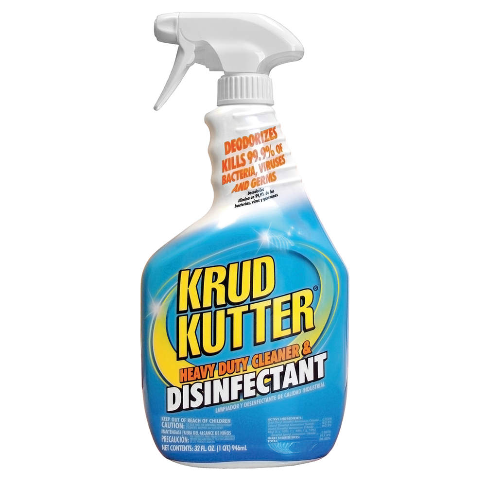 KRUD KUTTER Cleaner and Disinfectant, Size 32 oz. DH326