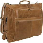 "David King & Co. Distressed Leather 42"" Garment Bag"