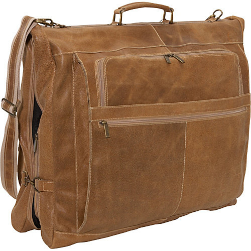 David King 42'' Deluxe Distressed Garment Bag