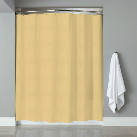 Embossed Fabric Shower Curtain Liner Heartwood Hotel Collection 70x72