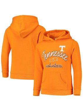 Girls Youth Russell Athletic Tennessee Orange Tennessee Volunteers Classic Fleece Pullover Hoodie