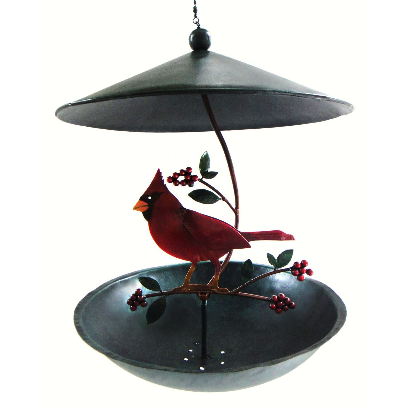 Gift Essentials Cardinal Bistro Bird Feeder