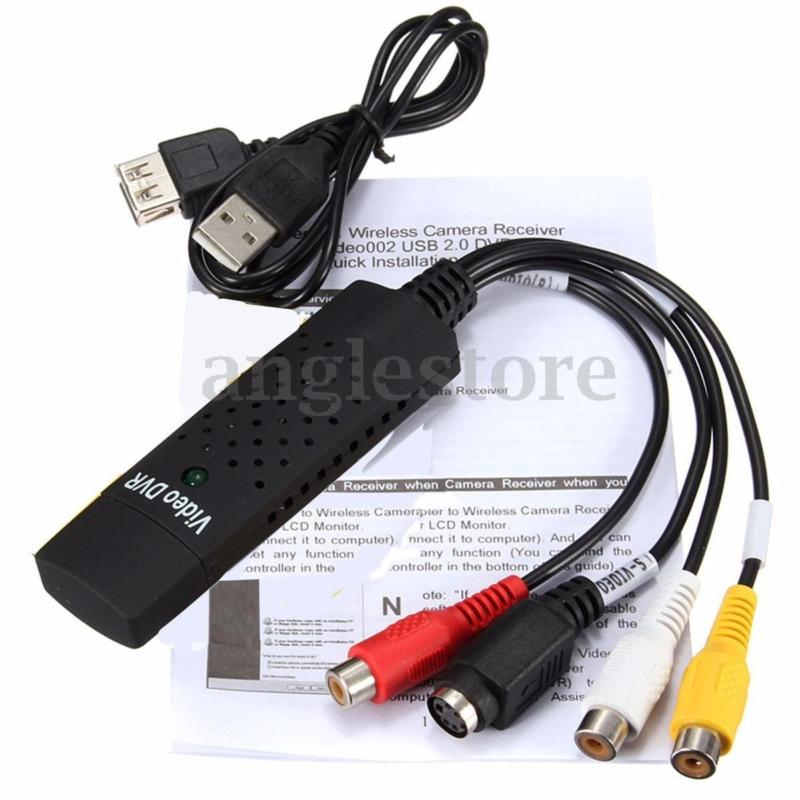 USB 2.0 Audio Video VHS to DVD PC Converter Capture Card Adapter for win 7 8 10