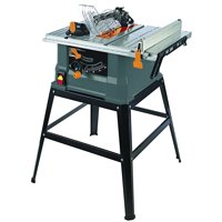 TruePower 10-Inch 15Amp Table Saw W/ Steel Stand