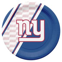 New York Giants Disposable Paper Plates