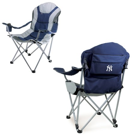New York Yankees Chair (New York Yankees Reclining Camp Chair - Navy - No Size )