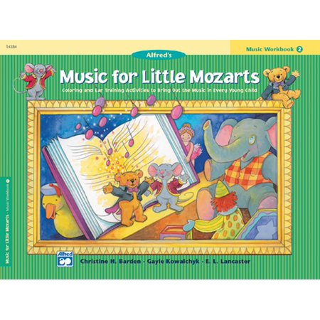 Music Halloween Activities (Music for Little Mozarts: Music for Little Mozarts Music Workbook, Bk 2: Coloring and Ear Training Activities to Bring Out the Music in Every Young Child)