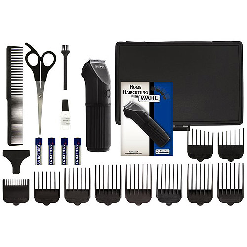 WAHL - The Anywhere Clipper 21 piece Haircutting Kit, Model 79141