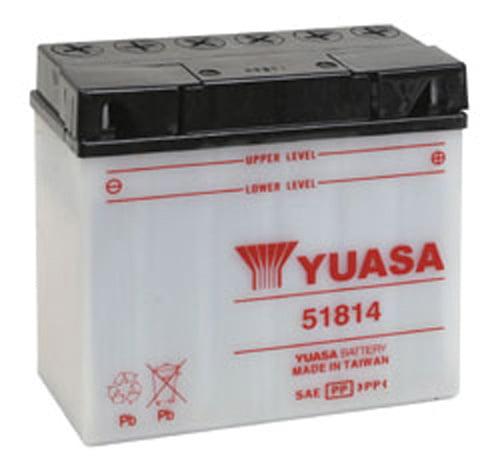 YUASA 51814 YUMICRON-12 VOLT BATTERY