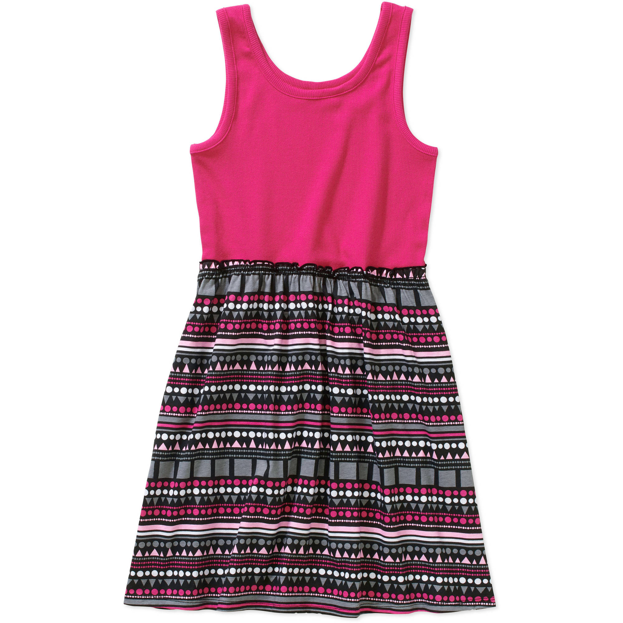 Faded Glory Girls' Tank It Dress