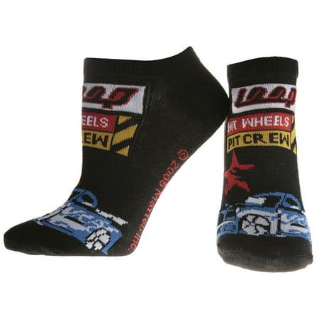 Hot Wheels - Pit Crew Black Socks