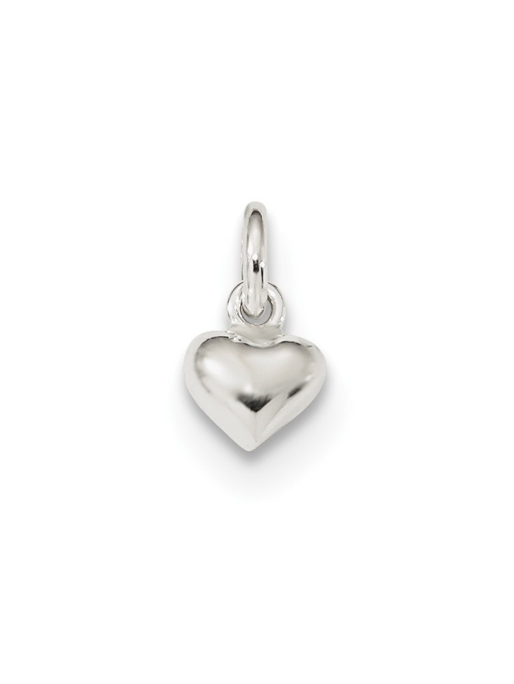 Mireval Sterling Silver Initial R Charm 25 x 9mm
