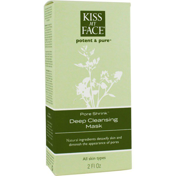 Deep Cleansing Mask Pore Shrink Kiss My Face 2 oz Liquid