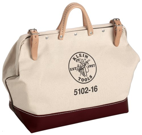 5102-20 20-Inch Canvas Tool Bag, Length: 20-Inch, width: 6-Inch, depth: 15-Inch By Klein Tools