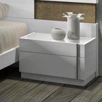 J&M Furniture Amora 2 Drawer Nightstand