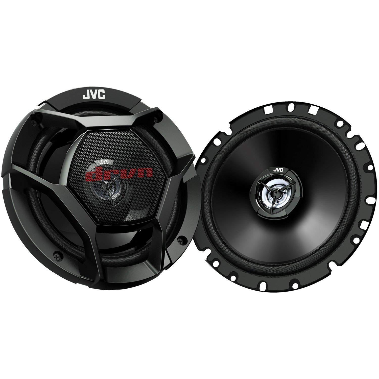 "JVC CS-DR1721 drvn DR Series Shallow-Mount Coaxial Speakers (6.75"", 300 Watts Max, 2 Way)"