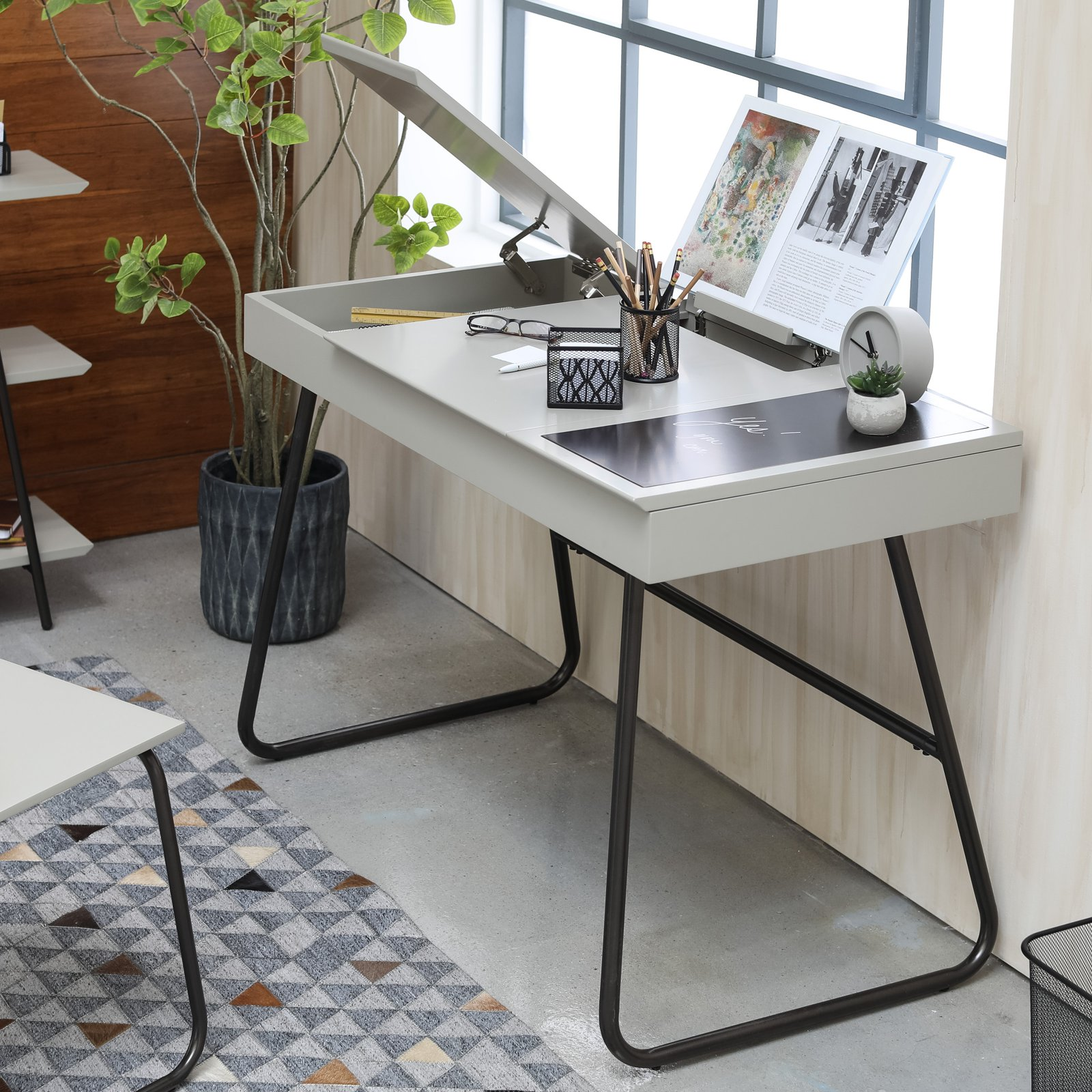 Belham Living Ardley Chalkboard Lift Top Desk