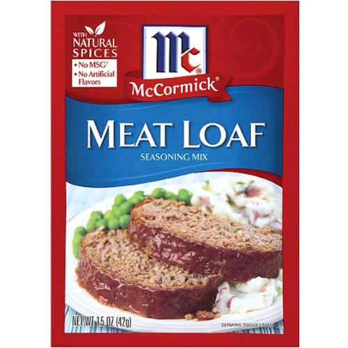 McCormick  Meat Loaf Seasoning Mix 1.50 oz (Pack of 3)