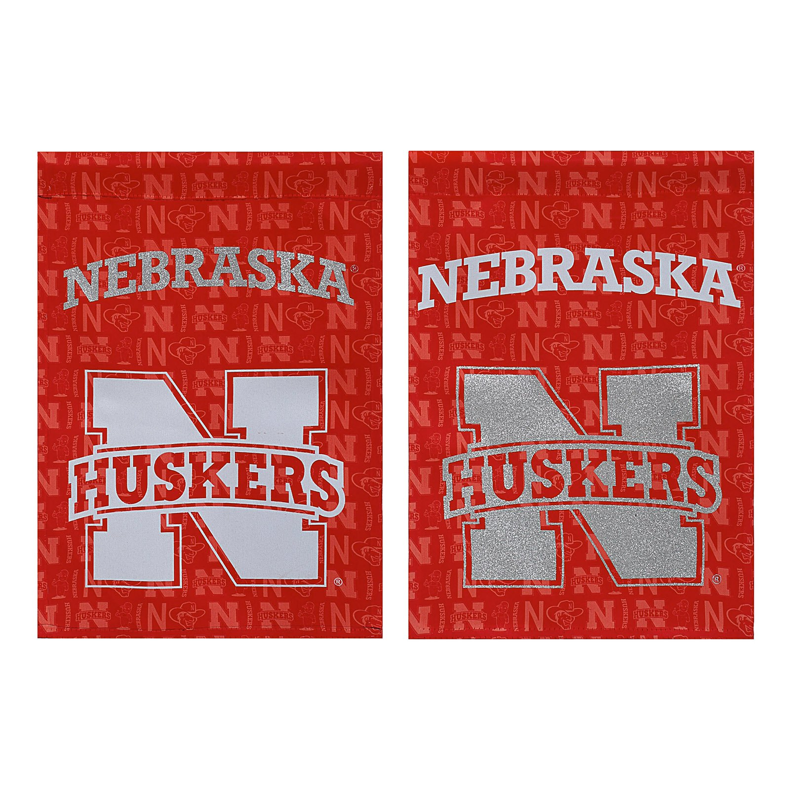 Team Sports America NCAA Double Sided Glitter Accented Flag