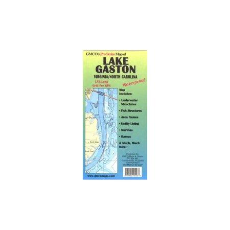 GMCO Lake Gaston Map Pro Series GPS/Folded, 10500PS ()