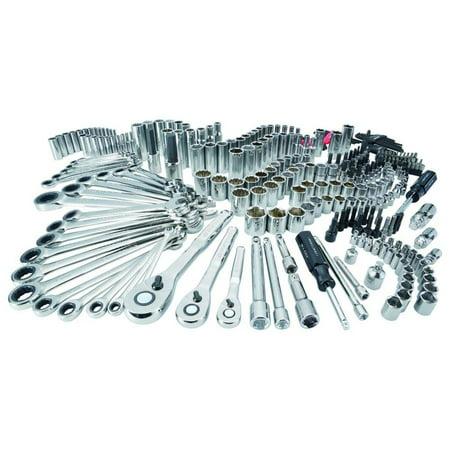 Craftsman Tools 298-Piece Standard (SAE) And Metric Polished Chrome Mechanics Tool Set