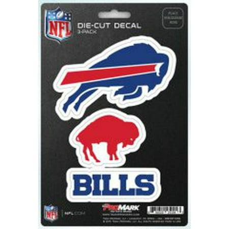 Buffalo Bills Coaster - Buffalo Bills Team Decal Set