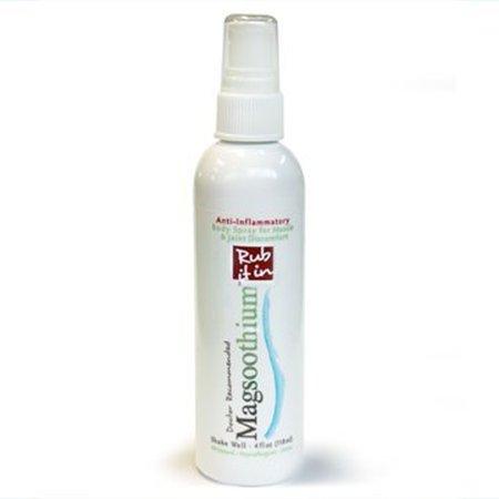 NOUVEAU magnésium et Arnica homéopathique de récupération Spray - Soulagement de la douleur / 3 oz (Lavande)