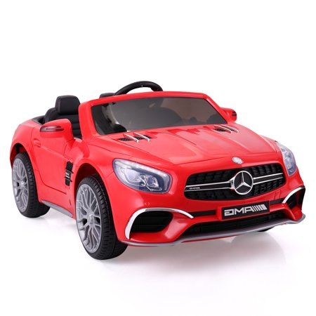 Jaxpety 12V Mercedes-Benz SL65 Electric Kids Ride On Car RC Remote Control Christmas