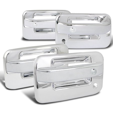 - Spec-D Tuning 2004-2012 Ford F150 4Dr Chrome Door Handle Covers W/ 2 Key Holes 2004 2005 2006 2007 2008 2009 2010 2011 2012