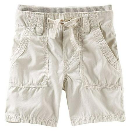 Oshkosh B'gosh Baby Boys' Pork-chop Pocket Shorts; 6 Months; Tan