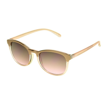 Foster Grant Women's Rose Gold COQUETTE Sunglasses - Inexpensive Sunglasses
