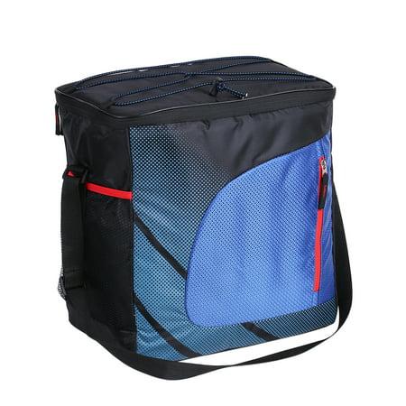 28L Large Heat Insulation Thermal Bag Car Refrigerator Picnic Insulated Cooler Bag with Adjustable Shoulder Strap