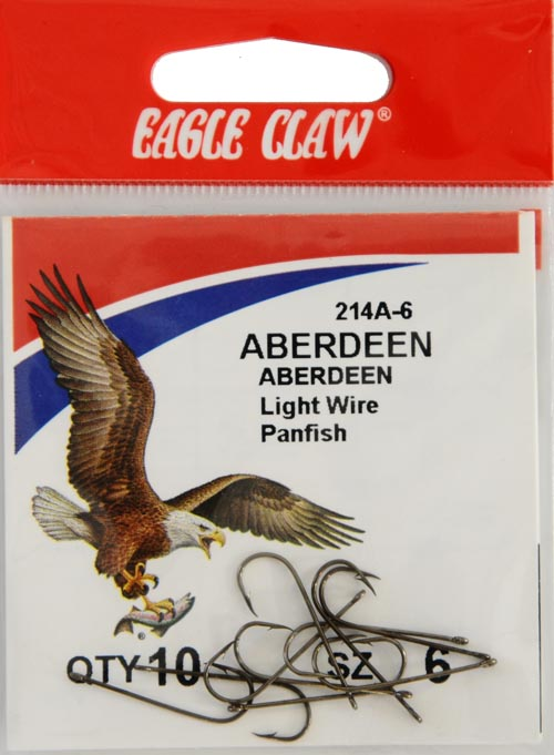 Eagle Claw Bronze Aberdeen 10ct Size 6 for sale online